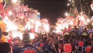 花巻まつり 山車パレード