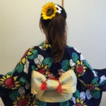 浴衣の髪型セミロング・ミディアム編!伸ばしかけでも可愛くセット。