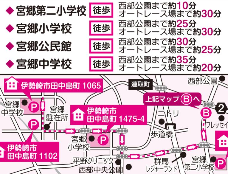 いせさき花火大会 駐車場 地図