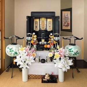 仏壇 お盆 お供え