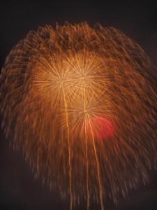 片貝まつり 花火 超巨大な正四尺玉