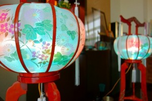 仏壇 盆提灯