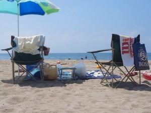 海水浴 砂浜