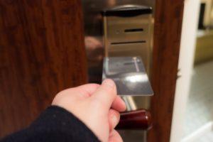ホテル 部屋 カードキー