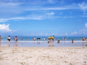 海岸 海水浴