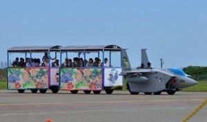 小松基地航空祭 花自動車