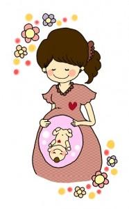 妊婦 赤ちゃん イラスト