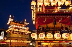 秋の高山祭 宵宮