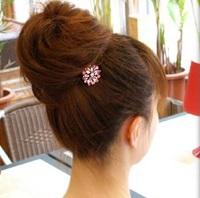 ヘアアレンジ 髪飾り