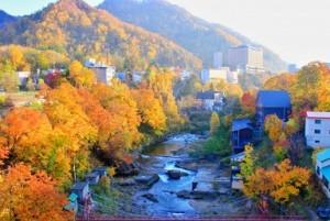 定山渓 紅葉