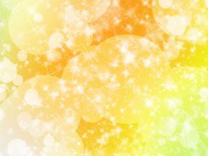 オレンジ 黄色 輝き