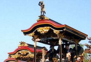 大津祭 西行桜狸山 たぬき