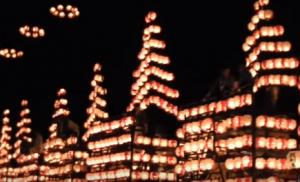 二本松提灯祭り 宵祭