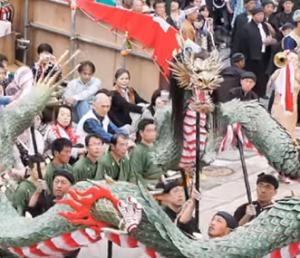 長崎くんち 龍踊り