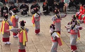 長崎くんち 本踊り