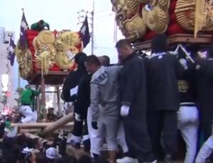 新居浜太鼓祭り 喧嘩