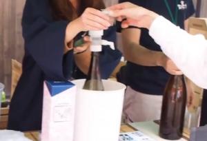 広島西条酒まつり 試飲コーナー