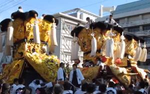 西条祭り 神輿