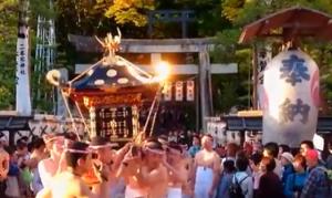 二本松提灯祭り 神輿渡御