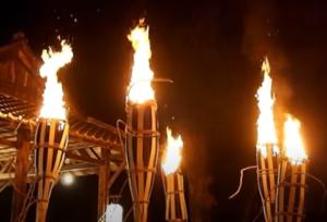 鞍馬の火祭 大松明