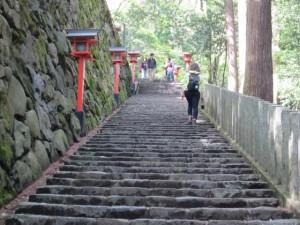 由岐神社 階段