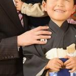 七五三の父親の服装。スーツ、着物の選び方。カジュアルはNG?