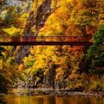 定山渓の紅葉2016。見頃の時期と見所。ゴンドラ、カヌーは?