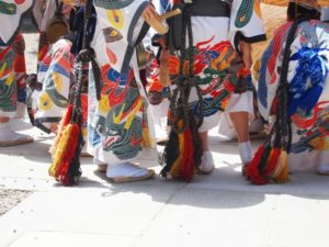 高山祭 独特の衣装