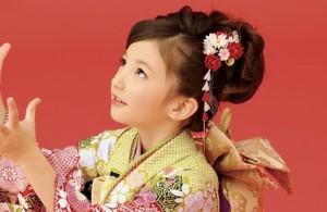 七五三 女の子 髪型 ミディアム