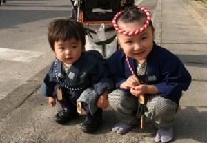 二本松提灯祭り 子供