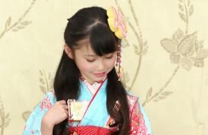 七五三 女の子 髪型 ロング