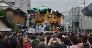 新居浜太鼓祭り 喧嘩まつり