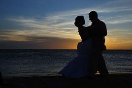 結婚 海辺