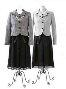 七五三 母親 スーツ
