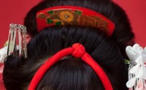 髪飾り 平うち蒔絵かんざし