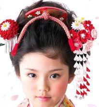 女の子 七五三 髪飾り