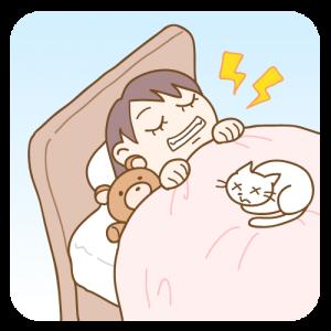 睡眠 歯ぎしり 子供 イラスト