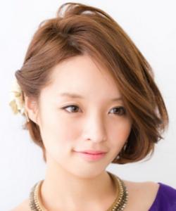 女性 髪型 ボブ アレンジ