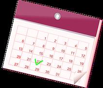 カレンダー イラスト