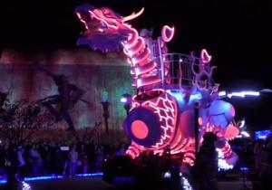 ハウステンボス 光のドラゴンロボット