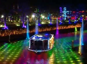 長崎ハウステンボス イルミネーション 光の運河