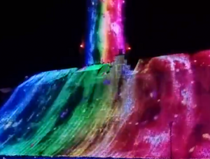 長崎ハウステンボス 光の滝
