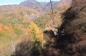 昇仙峡 ロープウェイ 紅葉