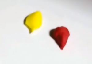 粘土 赤 黄色