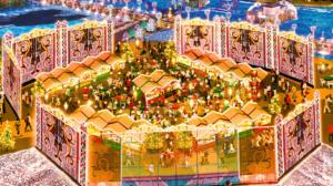 ハウステンボス 光のクリスマス イルミネーション