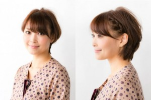 女性 ショートヘア 髪型