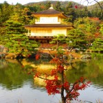 金閣寺の紅葉2017の見頃とライトアップ時期。おすすめコースは?