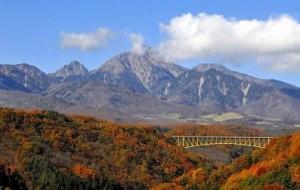 """黄色い橋"""" 八ヶ岳高原大橋"""