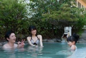 るり渓温泉 ラドン温泉 大浴場