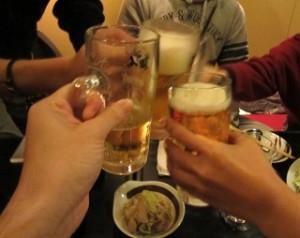 宴会 乾杯